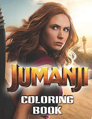 Jumanji Coloring Book Coloring Books For Adults Walker Paul 9798634789910 Amazon Com Books