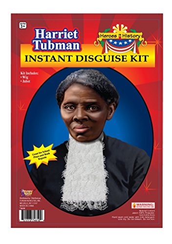 [Forum Novelties Women's Heroes In History Harriet Tubman Instant Disguise Kit, Multi, One Size] (Women In History Costumes)