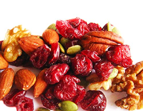 Omega- 3 Deluxe Mix 1 lb Delicious Trail Mix by Snack Farms
