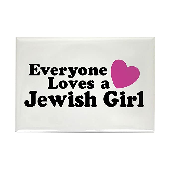 Cafepress Everyone Loves A Jewish Girl Rectangle Magnet 2x3