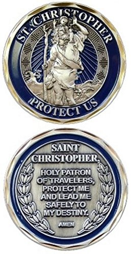 EAGLE CREST INC New St. Christopher Challenge Coin