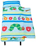 Wildkin 100% Cotton Nap Mat, Olive Kids Children's Cotton Nap Mat with Built in Blanket and Pillowcase, Pillow Insert Included, 100% Cotton, Children Ages 3-7 Years – The Very Hungry Caterpillar