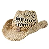 Conner Hats Women's San Diego Maize Western Fashion Hat, Natural, OS