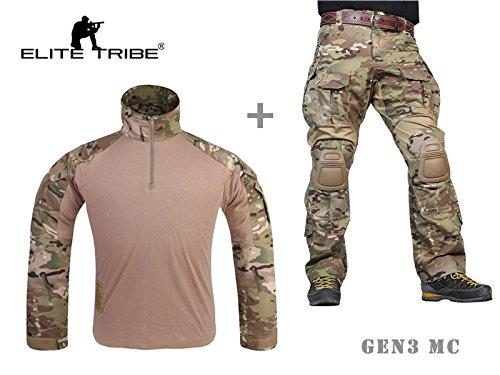 Airsoft militare tute di combattimento tattico Gen3 uniforme camicia pantaloni Multicam Tactical Outdoor