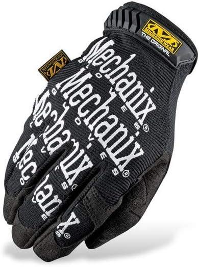 Mechanix Wear 891435s Handschuhe Mechanisch Original Schwarz Mit Weißem Logo Auto