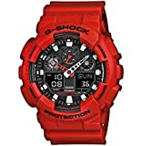 Casio G-Shock Men's Analogue/Digital Quartz Watch with Resin Strap – GA-100B