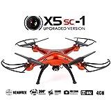 Syma X5SC-1 Falcon Drone 4 canaux avec Caméra HD 2.4G Quadcopter contrôle à distance