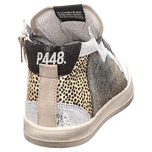 Hautes P448 Sneaker Femme High A8lovec Multicolour Baskets 7nnzHwC