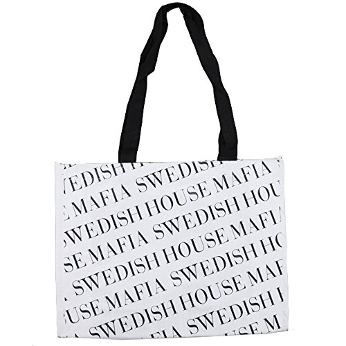 Swedish House Mafia White Tote Bag - White, One Size
