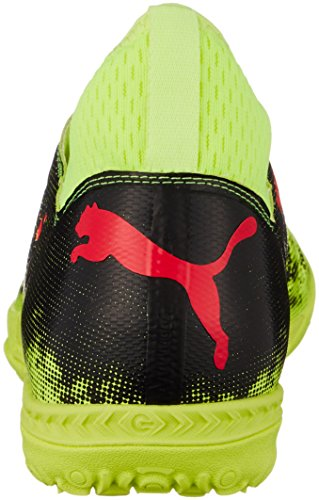 Puma Herren Future 18.3 TT Fußballschuhe Gelb (Fizzy Yellow-Red Blast-Puma Black)