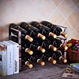 GONGSHI 3 Tier Stackable Wine Rack, Countertop