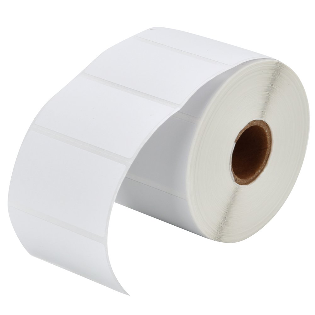 MFLABEL 12 Rolls of 1000 2-1/4 x 1-1/4 Inch Direct Thermal Perforated Shipping Labels,SKU labels (12 Rolls)