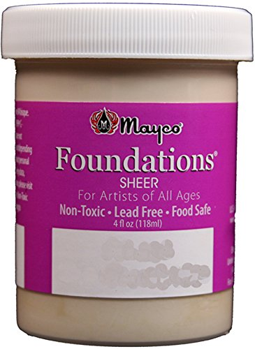 Mayco Foundations Sheer Glaze Pastel Jade FN 214 4 Ounce Jar