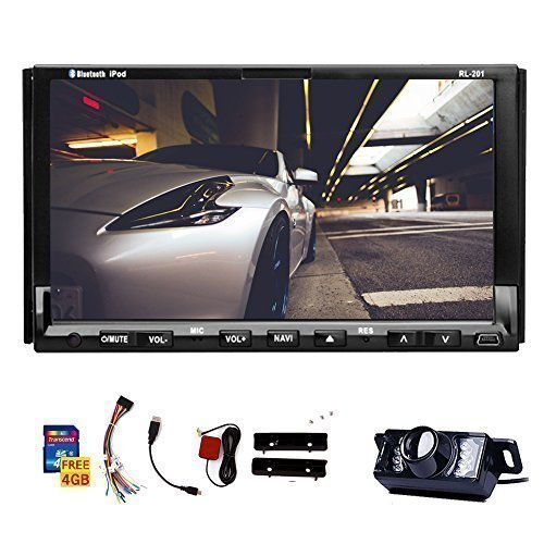 Double Din Universal In Dash HD Touch Screen Car DVD Player