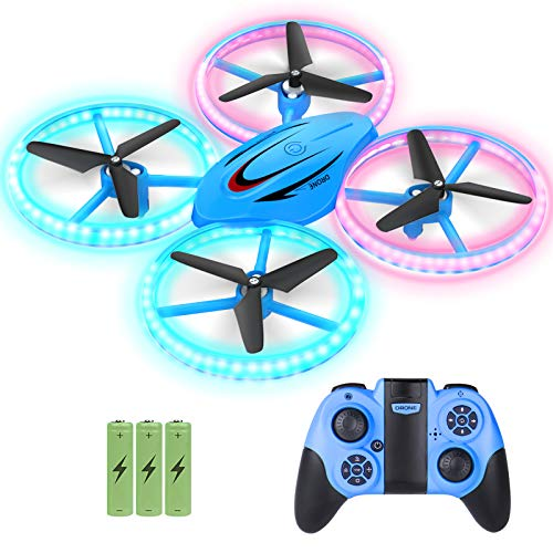 GEEKERA Drones for Kids, RC Drone for Beginners with Altitude Hold and Headless Mode, 2.4G Remote Control Quadcopter…