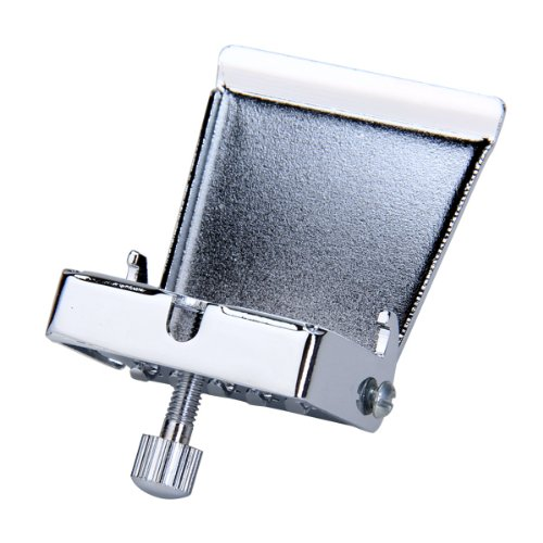 BANJO TAILPIECE CLAMSHELL Plate 5 String Chrome by Generic (Image #3)