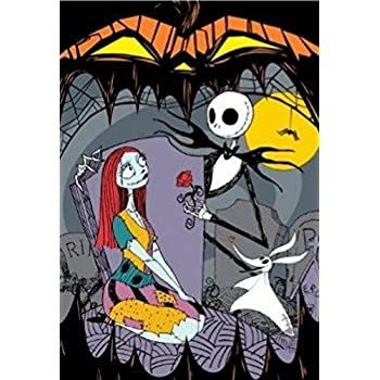 Amazon.com: Disney the Nightmare Before Christmas Blanket Twin ...
