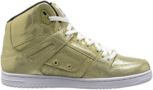 Women's Skateboarding High Shoe Gold Rebound DC Se Gold pdASq44w