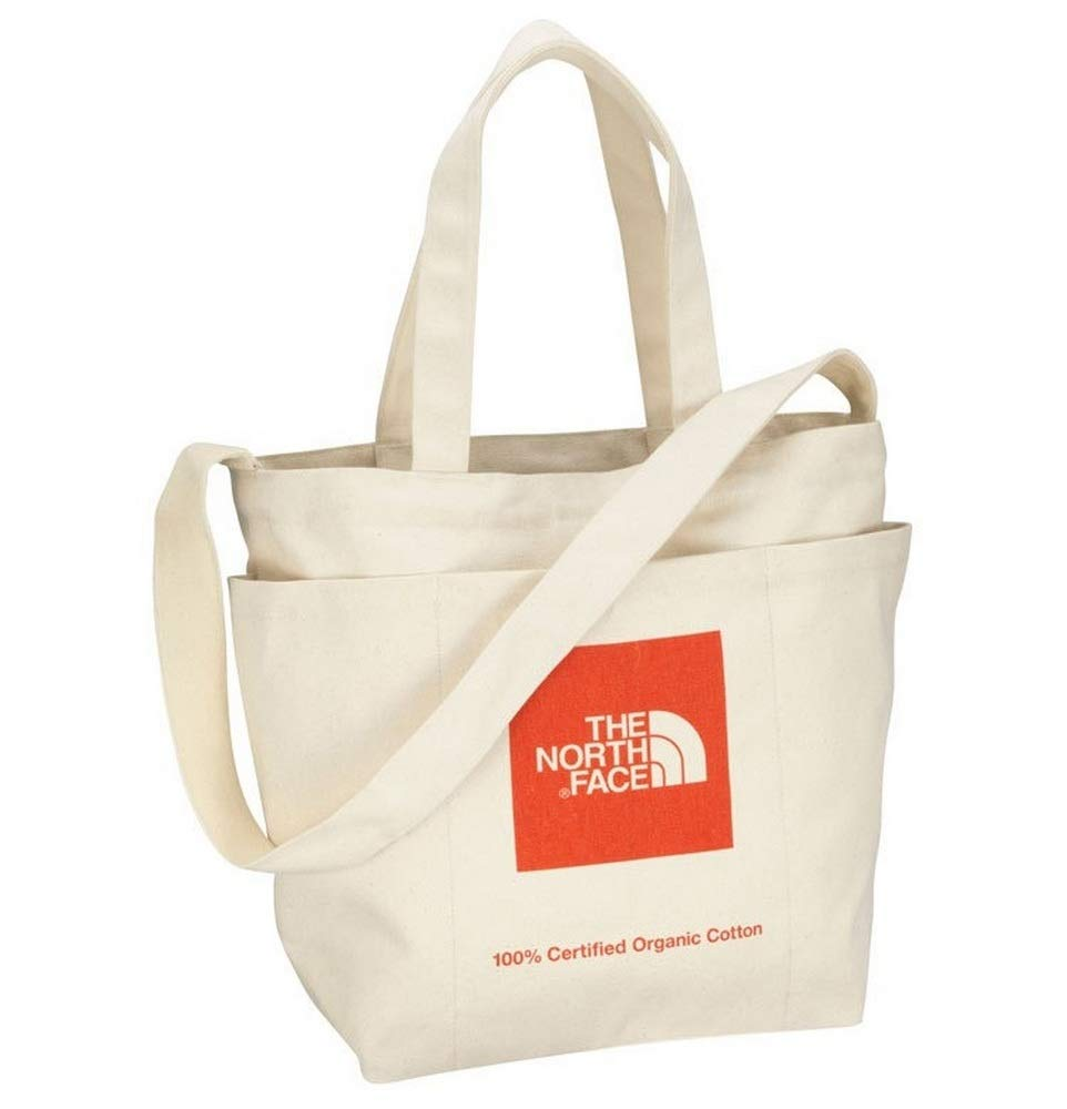 8b625f00ff Amazon.com   THE NORTH FACE 100% Organic Cotton 2 WAY Utility Tote Shoulder  Bag, Large-Capacity Anywhere Canvas Bag (Red)   Travel Totes
