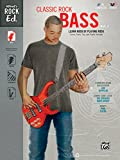 Alfred's Rock Ed.: Classic Rock Bass Vol. 1 Book & CD-ROM