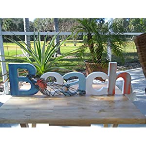 51a-xqHSXLL._SS300_ Wooden Beach Signs & Coastal Wood Signs