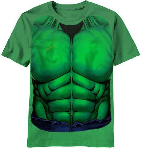 Incredible Hulk - Smash Costume T-Shirt - Medium (Incredible Hulk Costumes For Adults)