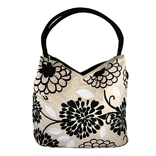 Embroidered Purse Floral...