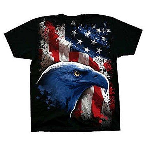 T-Shirt - American Icon Men's Black Size M
