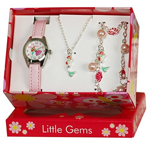 Ravel Little Gems Kids Mermaid Watch & Jewellery Gift Set For Girls R2223 (Mermaid For Kids)