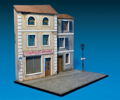 Miniart 1:35 Scale ''norman Street'' Plastic Model Kit by MiniArt (Image #2)