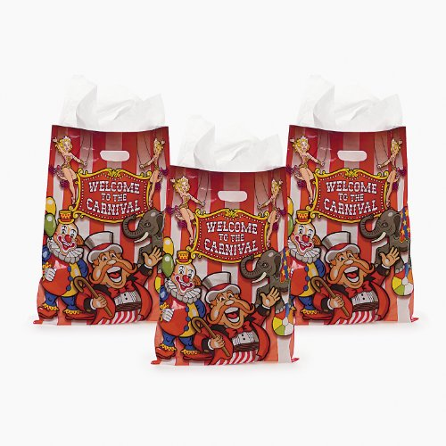 Under The Big Top Bags (50 pc) by Fun Express by Fun Express