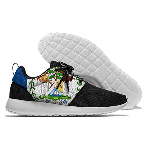 Yoigng Heren Vlag Van Belize Jogging Schoenen Sport Sneakers Casual Schoenen