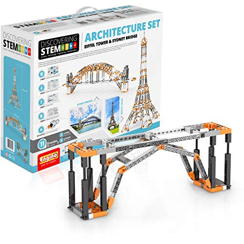 Engino Architecture Set- Eiffel Tower & Sydney Bridge Construction Set from Engino