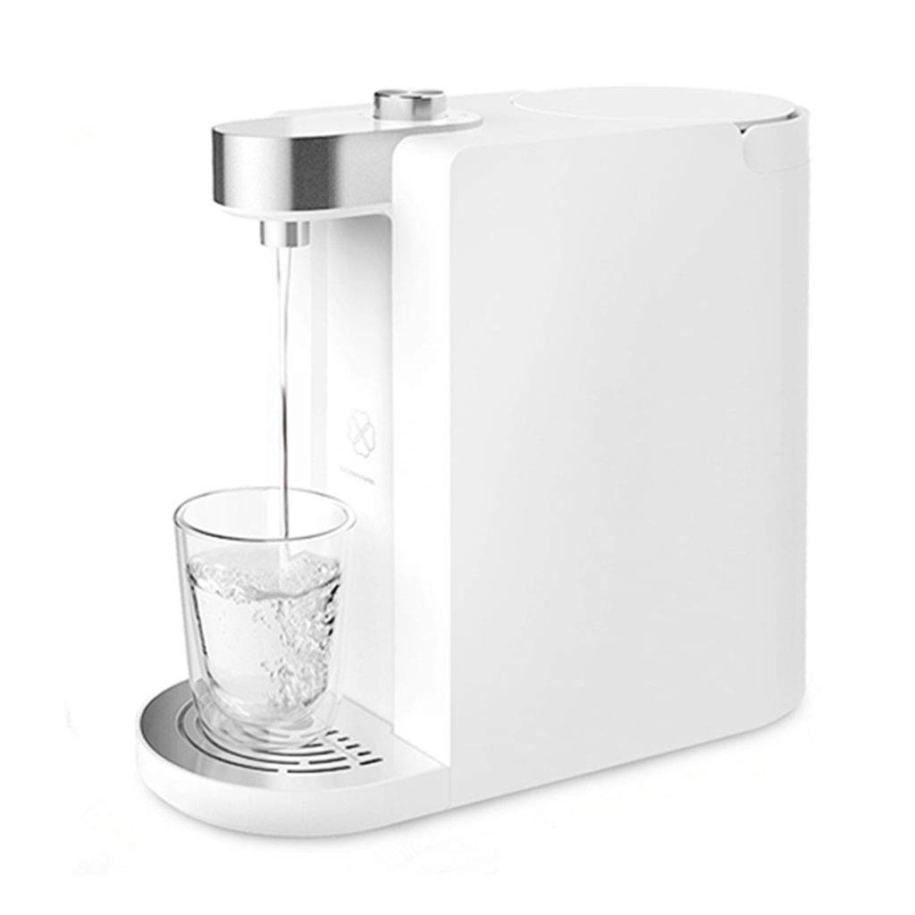 Hot Water Dispensers Domestic hot Water Dispenser Living Room Heated Drinking Fountain Speed hot Intelligent Automatic Small Heating Water Dispenser 18L (Color : White, Size : 32.8cm13.6cm28cm)