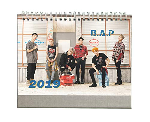 Fanstown Kpop 2019 Desk Calendar EXO BTS VIXX with Photo Cards