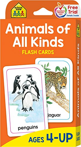 Animals of All Kinds Flash Cards