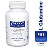 Pure Encapsulations – l-Glutamine 1000 mg – Hypoallergenic Supplement Supports Muscle Mass and Gastrointestinal Tract* – 90 Capsules For Sale