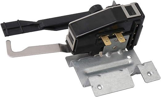 RDEXP 134101800 Cerradura de Puerta de Metal y plástico Plateado ...