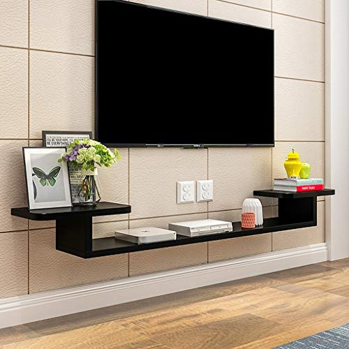 Floating Shelf Wall-Mounted TV Shelf Wall Shelf Set Top Box DVD Player Projector Router Storage Shelf TV Console TV Stand TV Background Wall Decoration Shelf