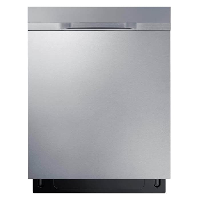 "Samsung Appliance DW80K5050US 24"" Built In Fully Integrated Dishwasher in Stainless Steel"