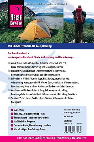 Reise Know-How Outdoor-Handbuch: Outdoor-Ratgeber – Ausrüstung, Verhalten, Gefahren, Survival (Sachbuch)