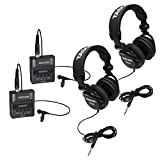 Tascam Portable Digital Recorder w/ Lavalier Mic, 2 Pack + Headphones, 2 Pack