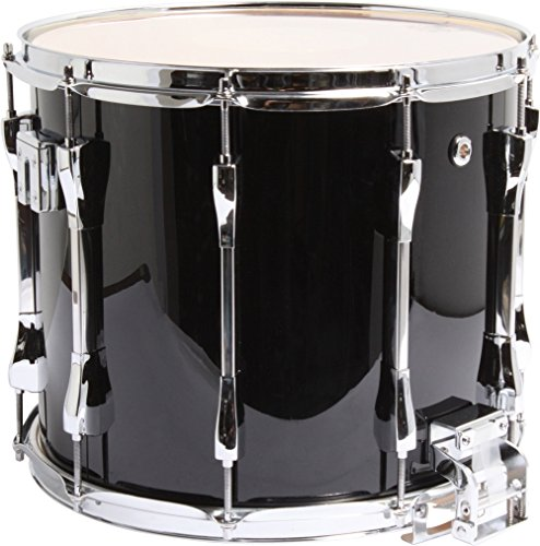Pearl Marching Snare Drum - Pearl Competitor Traditional Snare Drum 14 x 12 in. Midnight Black