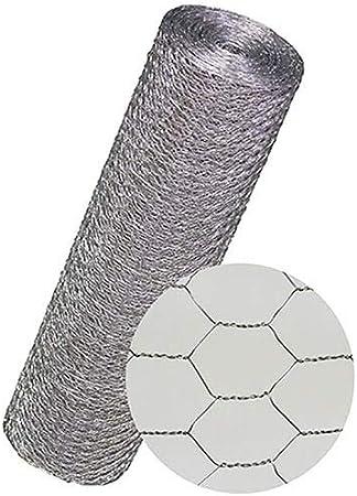 Maschendrahtzaun Kaninchendraht K/ükendraht Hasendraht VERZINKT Draht 30-100 cm H/öhe Sechseckgeflecht Sechseckdraht Maschenweite: 13 mm H/öhe: 300 mm