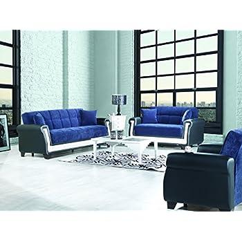 Amazon Proline Functional Futon Living Room Set Blue Kitchen