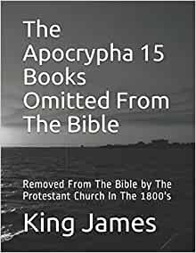 List of books removed from the bible