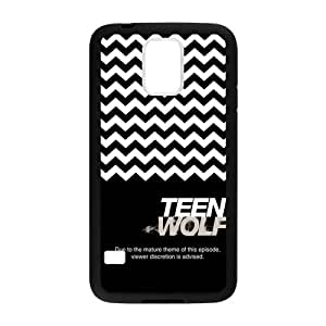Classic Teen Wolf Chevron Black Case Coverfor Samsung Galaxy S5 (Laser Technology)