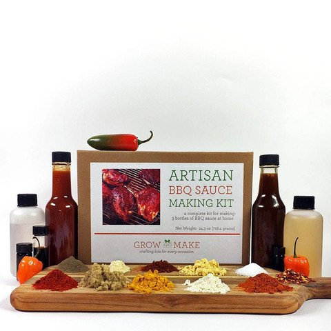 Artisan DIY BBQ Sauce Making Kit by Grow and Make - Create 3