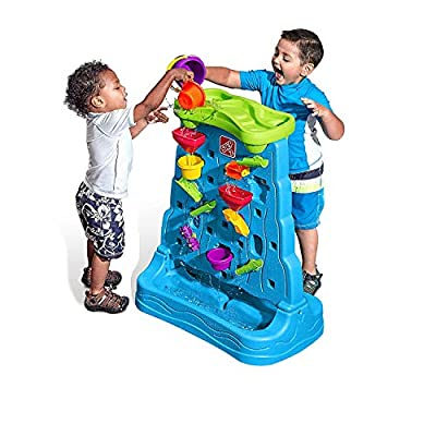 Step2 Waterfall Discovery Wall Playset (Deluxe Pack: Includes 13pc Accessory Set): Toys & Games