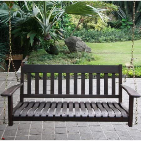 Better Homes and Gardens Delahey Outdoor Porch Swing
